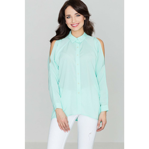 Lenitif Woman's Shirt K383 Mint
