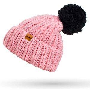 Zimná čiapka pletená s brmbolcom DOKE