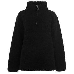 Golddigga quarter  Zip Sweater Ladies