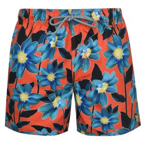 Ted Baker Croso Print Swim Shorts