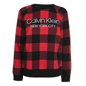 Calvin Klein Check Sweatshirt