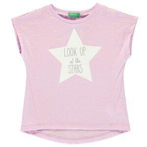 Benetton Star Print T Shirt
