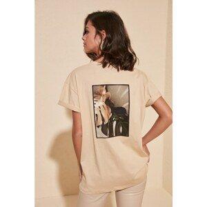 Dámske tričko Trendyol Printed