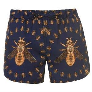 Hermano Mens Printed Swim Shorts