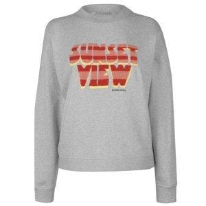 Scotch and Soda and Soda Sunset Crew Sweatshirt Ladies