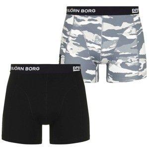 Bjorn Borg 2 Pack Logo Trunks