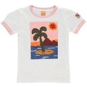 Scotch and Soda Palm Tree T Shirt Junior Girls
