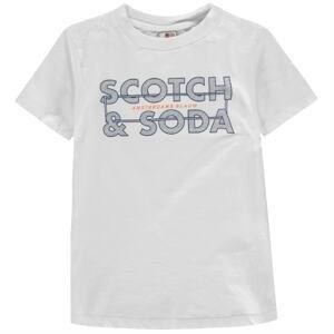 Scotch and Soda Logo T Shirt