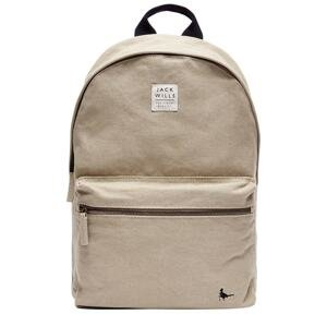Jack Wills Exeter Mr Wills Canvas Backpack