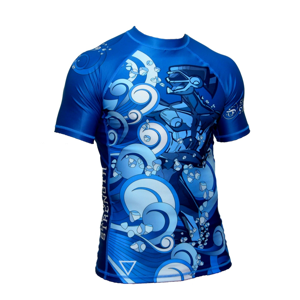 ShowYourStrength Man's T-shirt Rashguard The Four Elements Water