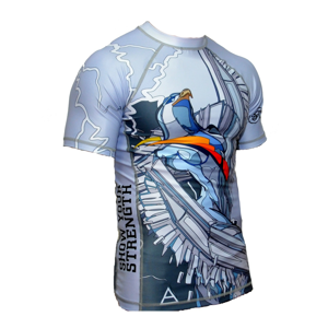 ShowYourStrength Man's T-shirt Rashguard The Four Elements Air