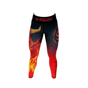 ShowYourStrength Woman's Leggings Leggings The Four Elements Fire