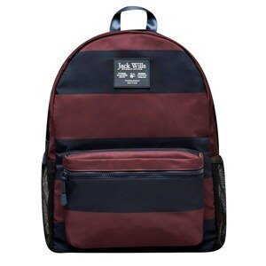 Jack Wills Sketchworth Stripe Nylon Backpack