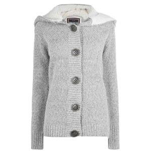 SoulCal Button Knit Jacket Ladies