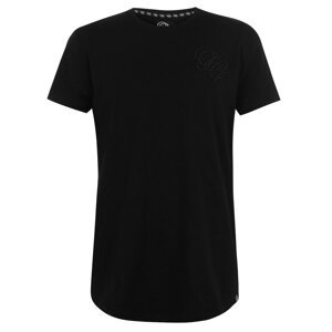Fabric Embroidered T Shirt Mens