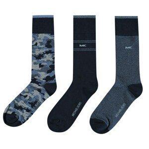 Michael Kors 3 Pack Camo Crew Socks