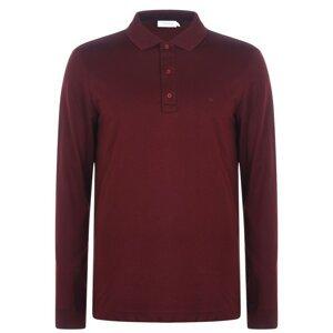 Calvin Klein Liquid Touch Long Sleeve Polo Shirt