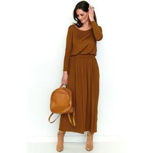 Numinou Woman's Dress Nu199 Camel