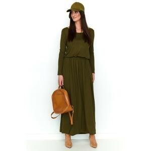 Numinou Woman's Dress Nu199 Khaki