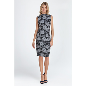 Colett Woman's Dress Cs06 Flowers