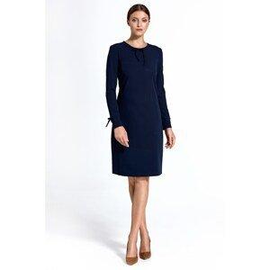 Colett Woman's Dress Cs24 Navy Blue
