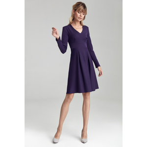 Colett Woman's Dress Cs43 Violet