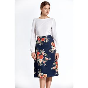 Colett Woman's Skirt Csp05 Pattern Navy Blue