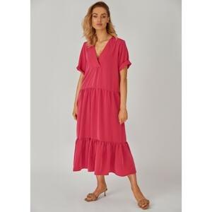 Kolorli Woman's Dress Lou Fuchsia
