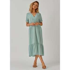 Kolorli Woman's Dress Lou Mint