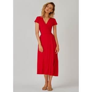 Kolorli Woman's Dress Flora Midi