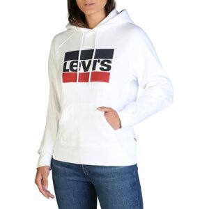 Levi's® Biela dámska mikina Levi's