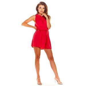 Awama Woman's Dress A284 Fuchsia