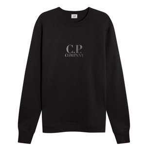 CP COMPANY Rubber Logo Sweatshirt