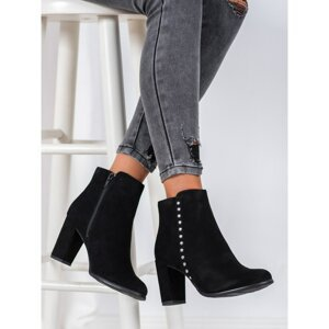 EVENTO CLASSIC LEATHER ANKLE BOOTS