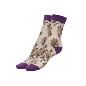 Fiore Woman's Socks Roses  100 Den