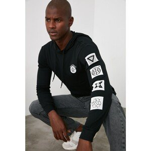 Pánske tričko Trendyol Hooded