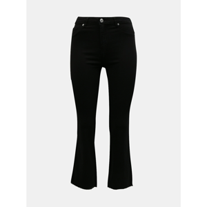 Black shortened flared fit jeans TALLY WEiJL