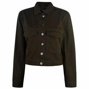 Golddigga Crop Jacket Ladies