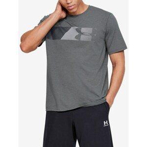Grey Men's T-Shirt Fast Under Armour
