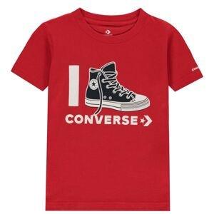Converse I Love T Shirt Junior Boys