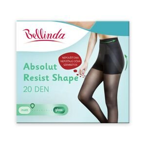 Bellinda Tights ABSOLUT RESIST SHAPE 20 DEN - Forming tights, in addition, do not let go of the eye - amber