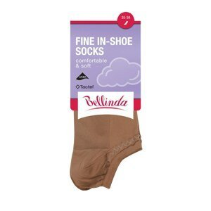 Bellinda Women's Socks FINE IN-SHOE SOCKS - Women's Low Socks - Amber