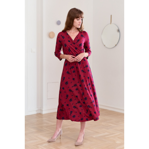 Marie Zélie Woman's Dress Rita Nox Crimson