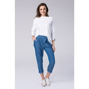Look Made With Love Woman's Trousers 415 Boyfriend Jeans Light Jeans