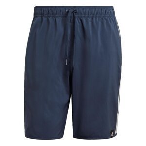 Adidas Classic-Length 3-Stripes Swim Shorts Mens