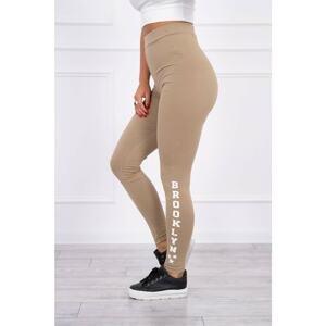 Pants leggings Brooklyn camel