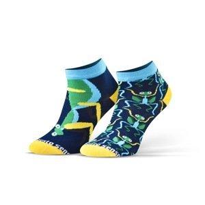 Sesto Senso Unisex's Finest Cotton Ankle Socks Praying Mantis