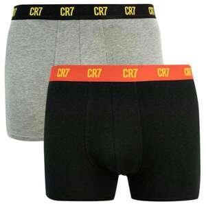 2PACK men's boxers CR7 multicolored (8302-49-2724)