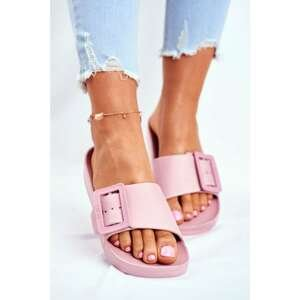 Women's Slides Big Star Pink FF274A389