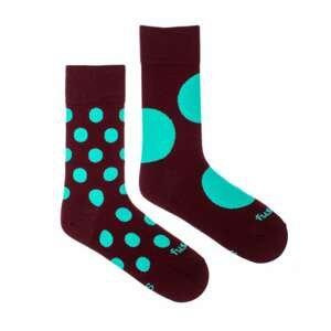 Merry socks Fusakle discoš burgundy (--1083)